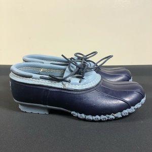 L. L. Bean duck boots.